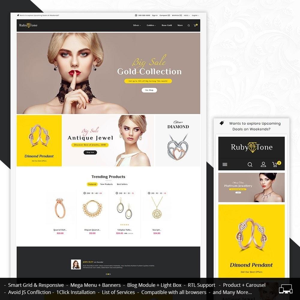 theme - Joalheria & Acessórios - Ruby Jewelry - 1