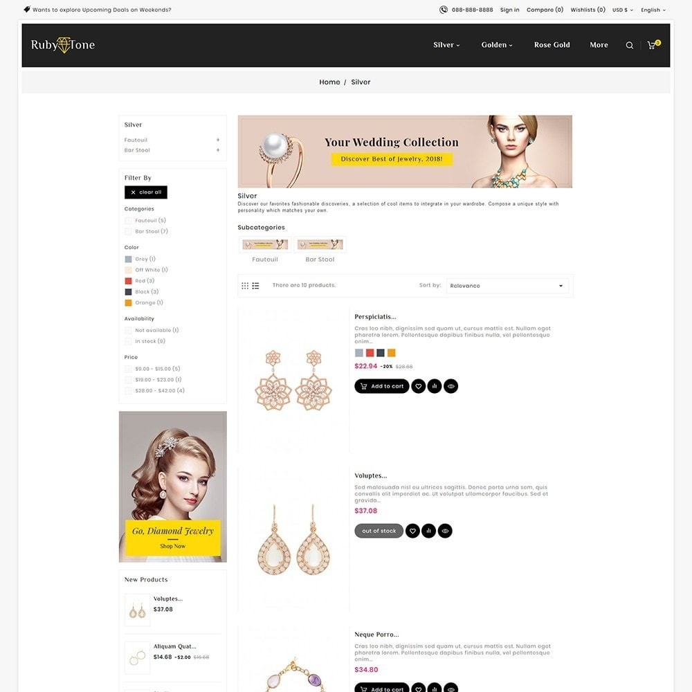 theme - Jewelry & Accessories - Ruby Jewelry - 4