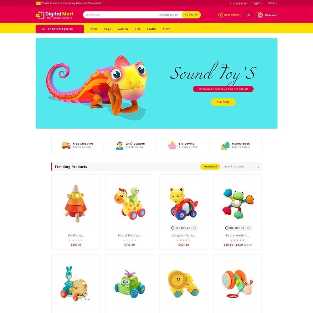 theme - Crianças & Brinquedos - Digital Mart Kids Toys - 2