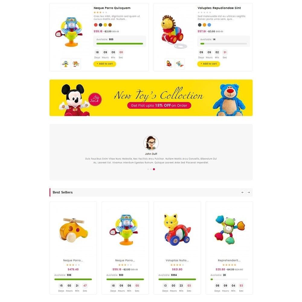 theme - Crianças & Brinquedos - Digital Mart Kids Toys - 3