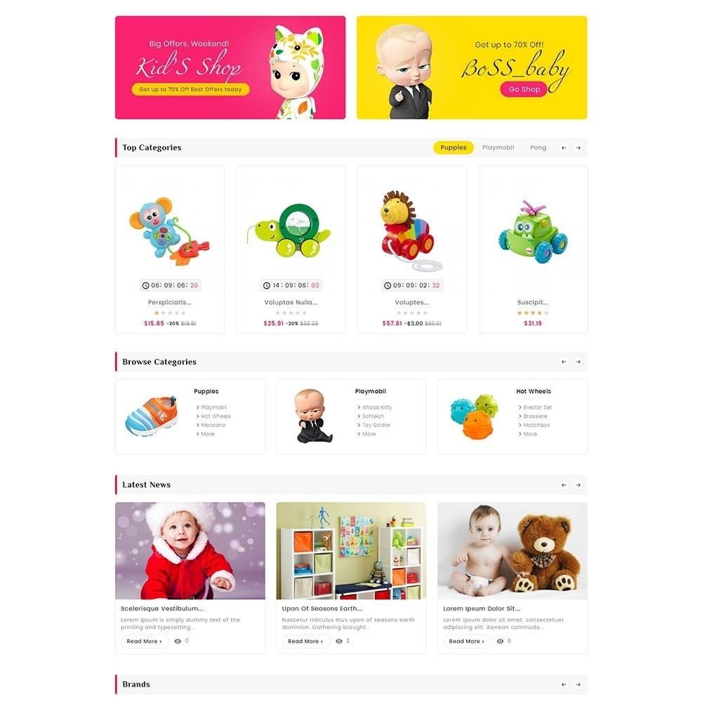 theme - Crianças & Brinquedos - Digital Mart Kids Toys - 4
