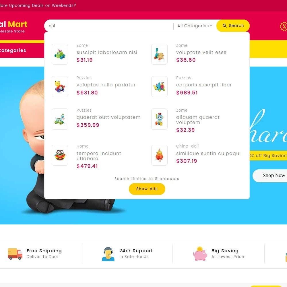 theme - Crianças & Brinquedos - Digital Mart Kids Toys - 12