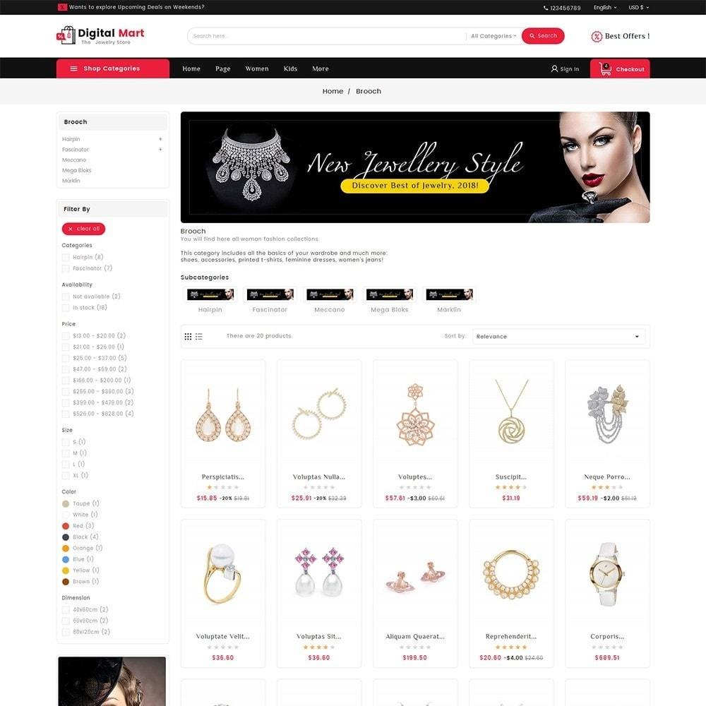 theme - Joalheria & Acessórios - Digital Mart Jewelry Imitation - 3