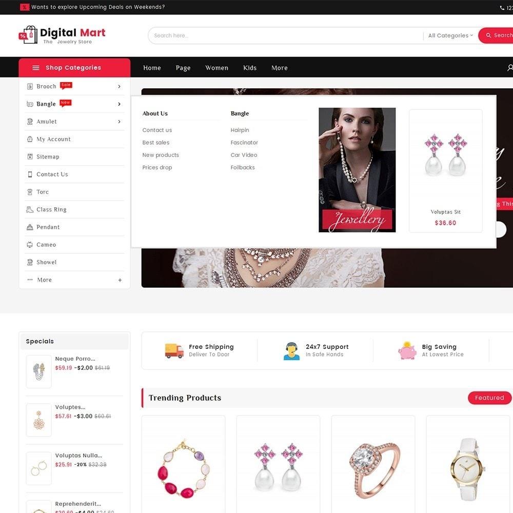 theme - Joalheria & Acessórios - Digital Mart Jewelry Imitation - 9