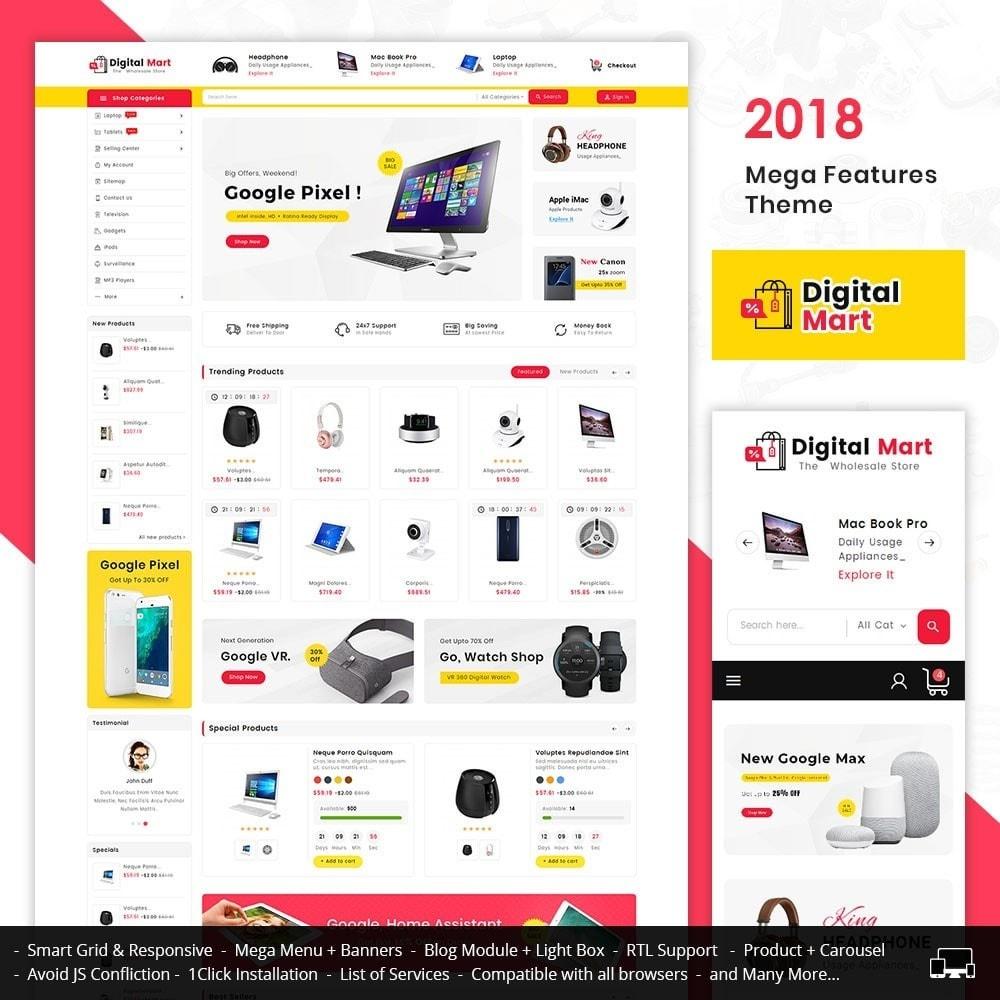 theme - Electronique & High Tech - Digital Electronics Mart - 1