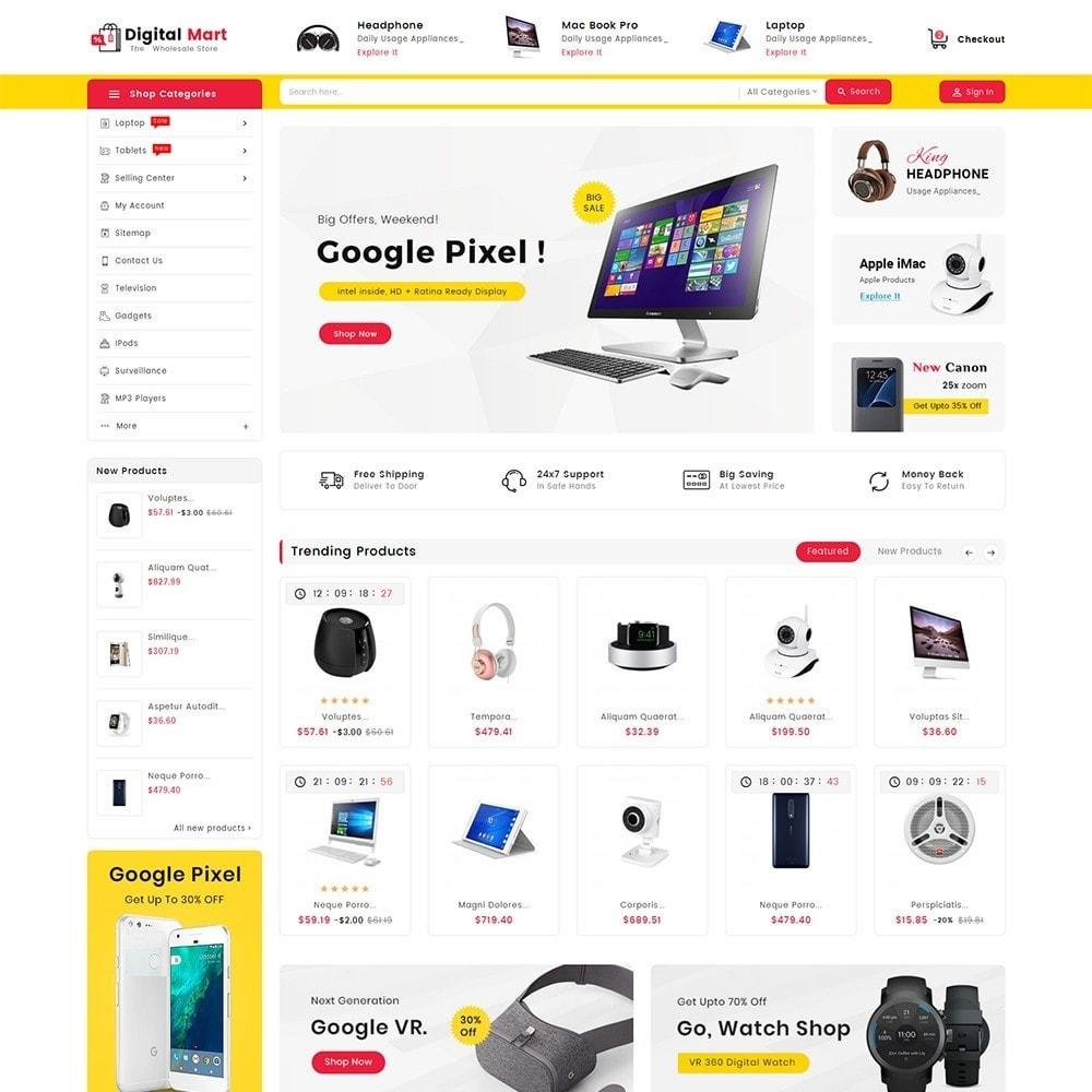theme - Electronique & High Tech - Digital Electronics Mart - 2