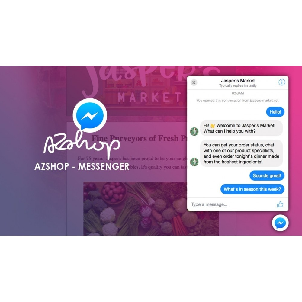 module - Support & Chat Online - AZShop Messenger - 1