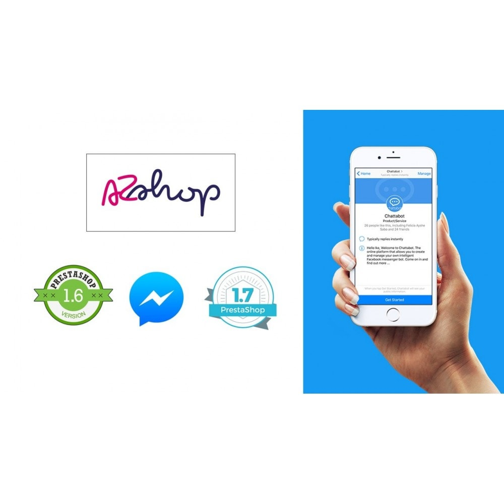 module - Support & Chat Online - AZShop Messenger - 3