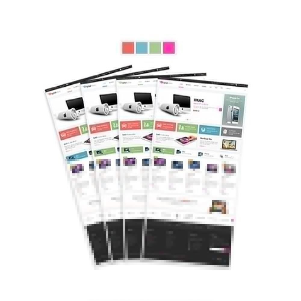 theme - Electronique & High Tech - Leo Digital - Boutique numérique, Magasin mobile - 4