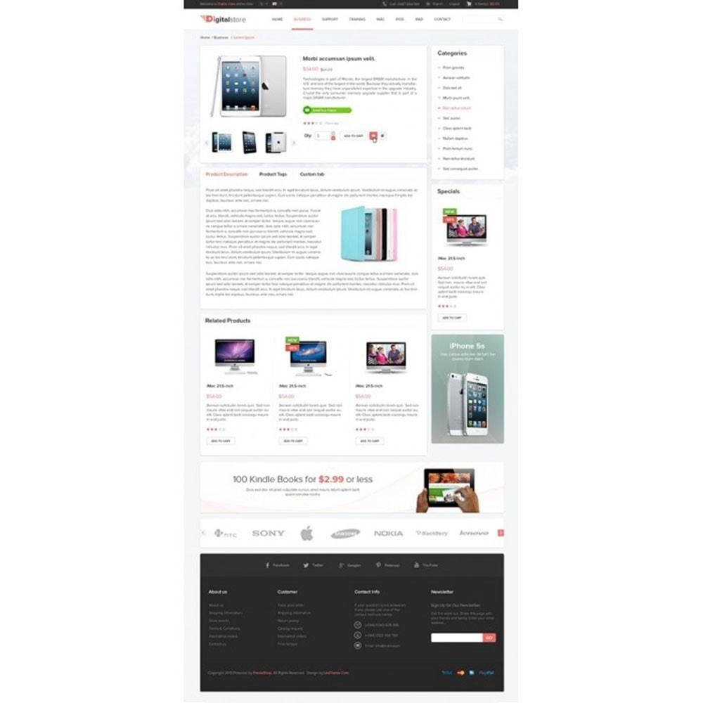theme - Electronique & High Tech - Leo Digital - Boutique numérique, Magasin mobile - 6