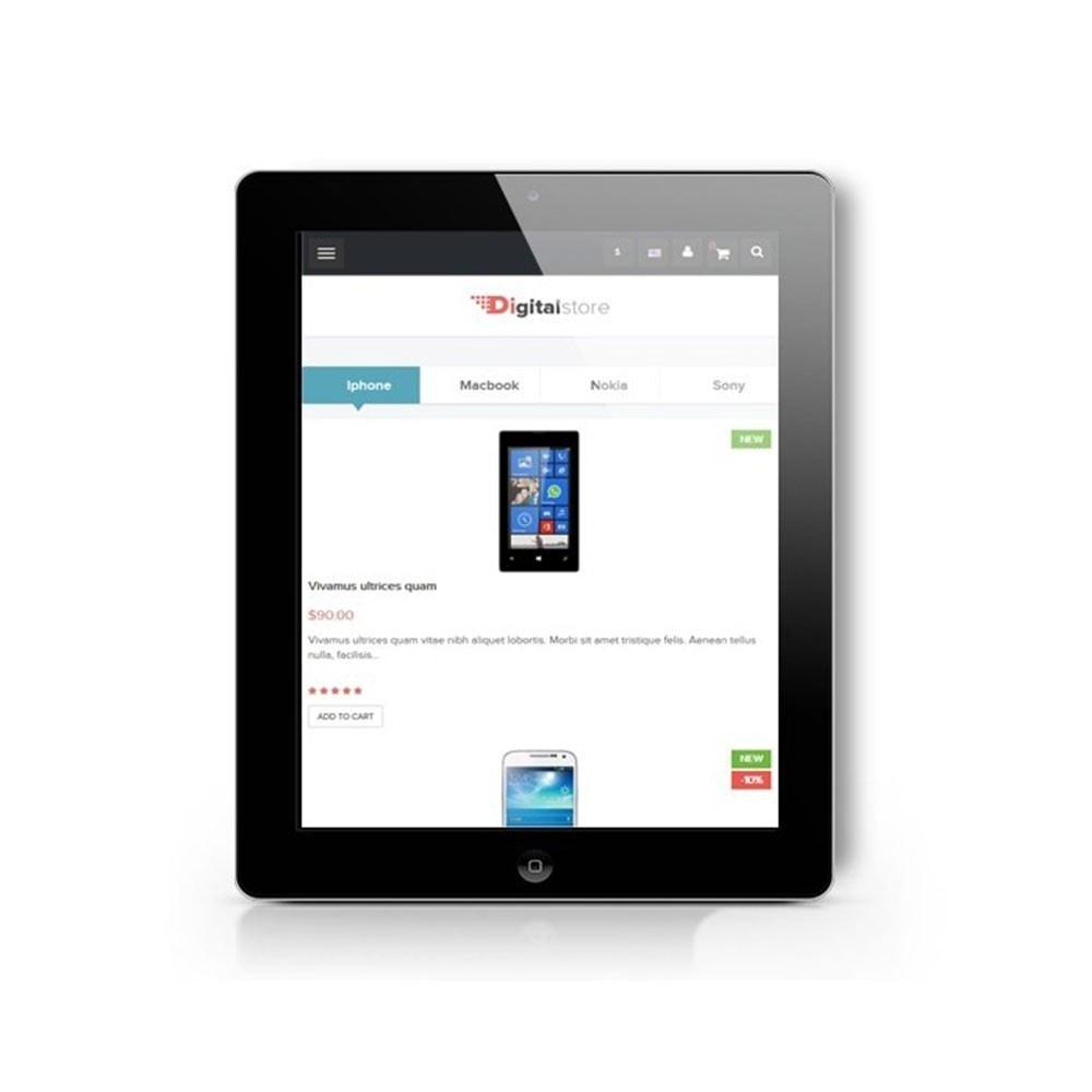 theme - Electronique & High Tech - Leo Digital - Boutique numérique, Magasin mobile - 7