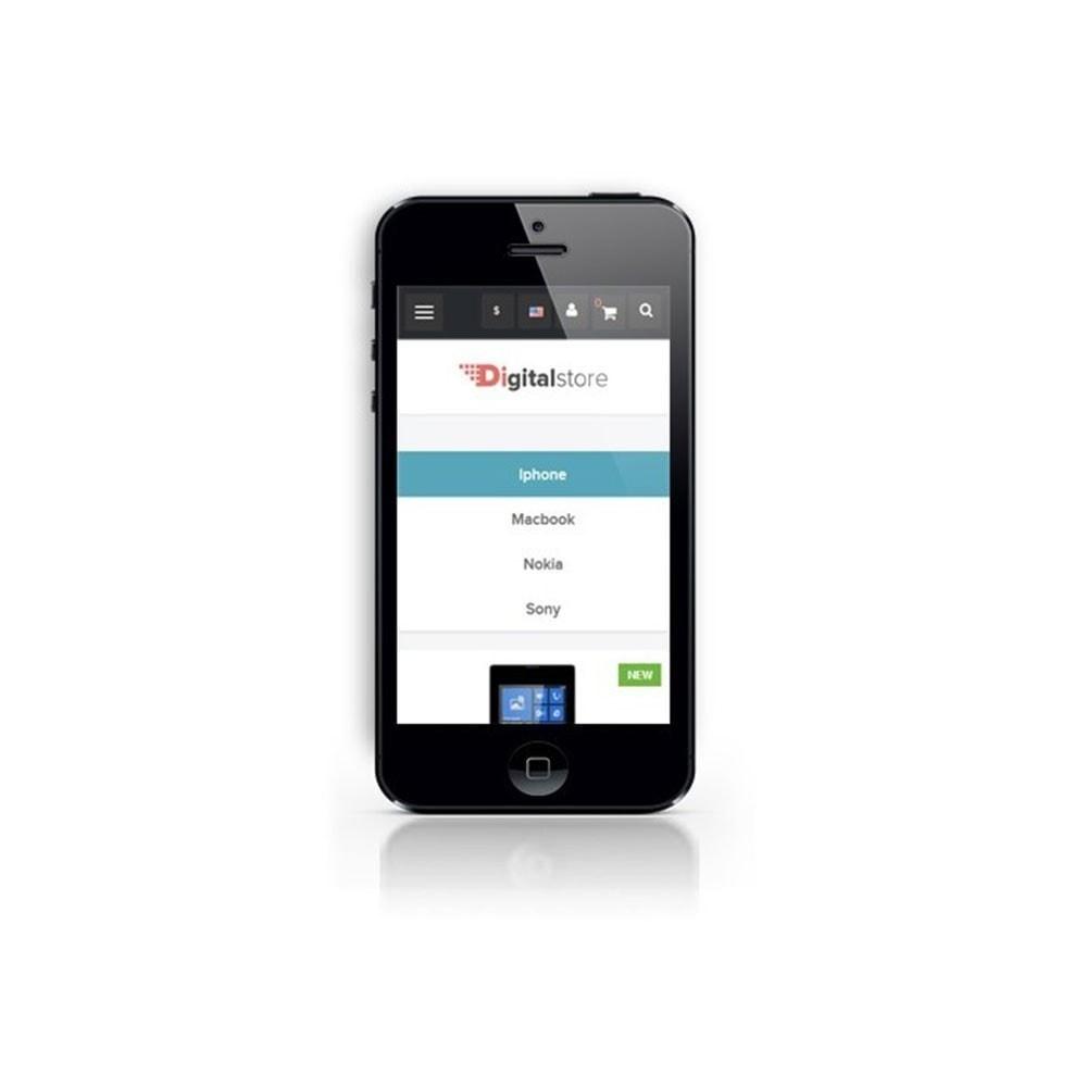 theme - Electronique & High Tech - Leo Digital - Boutique numérique, Magasin mobile - 8