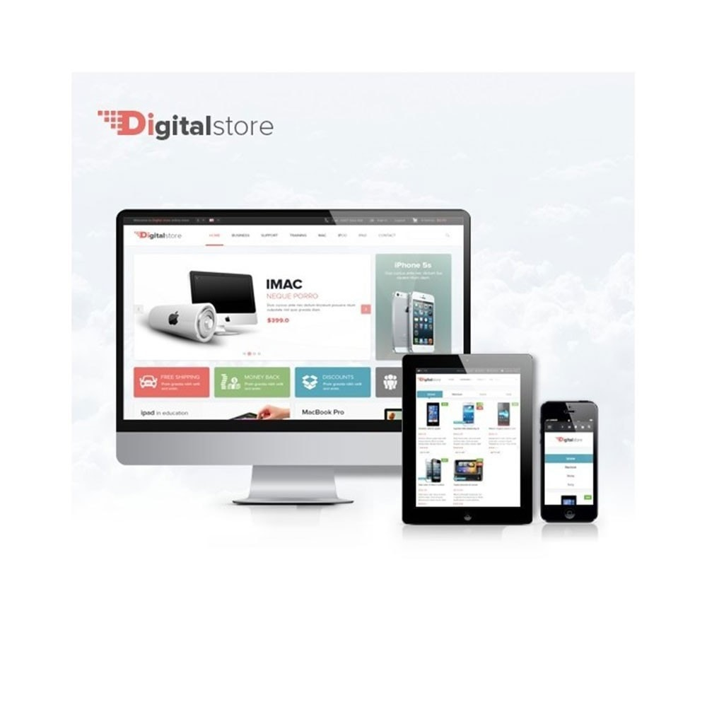 theme - Elektronik & High Tech - Leo Digital - Digitaler Shop, Handyladen, Hi-Tech-Shop - 2