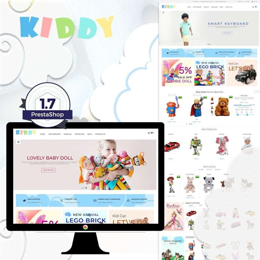 theme - Crianças & Brinquedos - Kiddy & Children Store - 1
