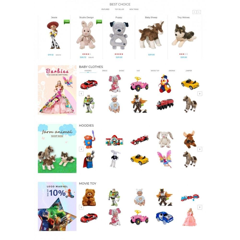 theme - Crianças & Brinquedos - Kiddy & Children Store - 3