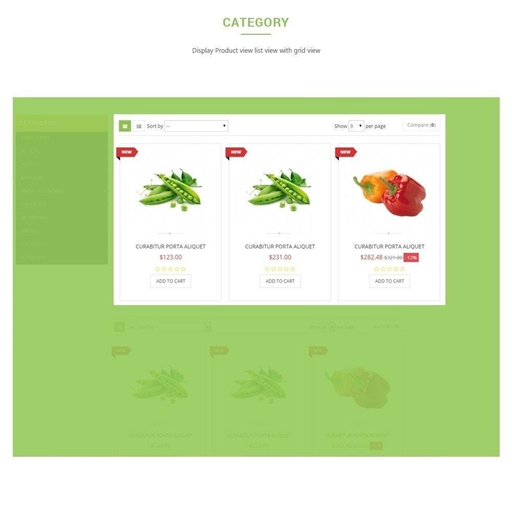 theme - Alimentation & Restauration - Leo Fresh Store - Alimentation, Légumes, Marché frais - 4