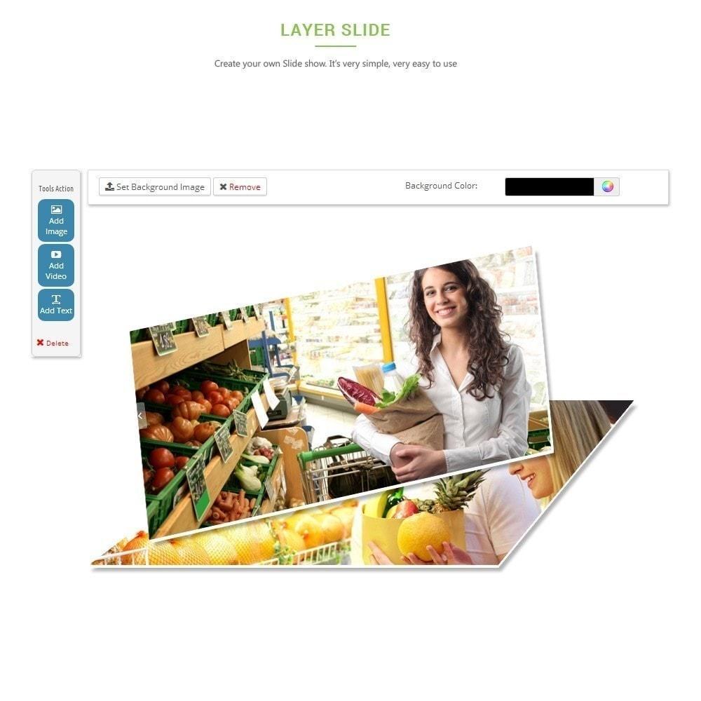 theme - Alimentation & Restauration - Leo Fresh Store - Alimentation, Légumes, Marché frais - 6