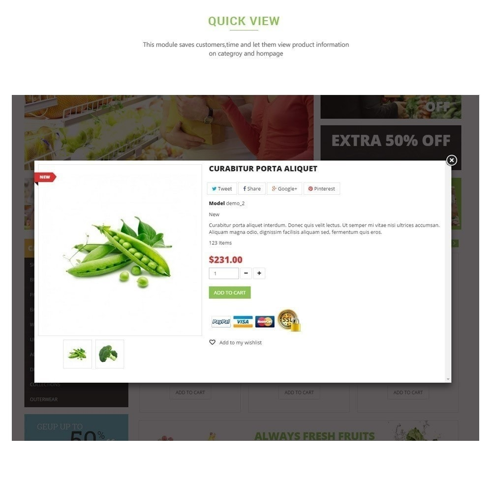 theme - Alimentation & Restauration - Leo Fresh Store - Alimentation, Légumes, Marché frais - 9
