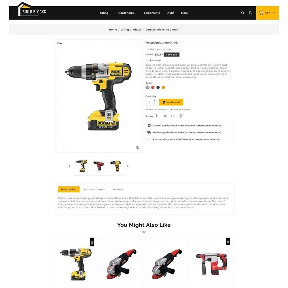 theme - Sport, Loisirs & Voyage - Construction Tools - 5