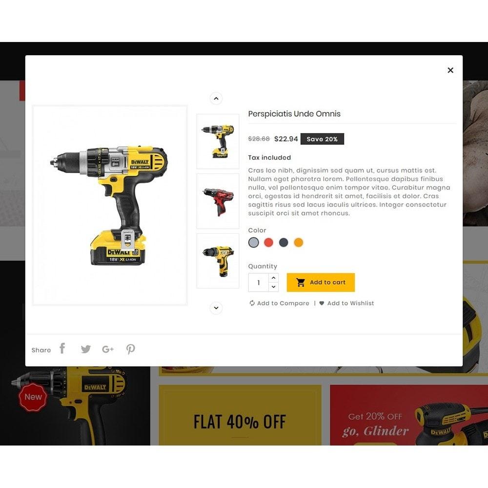 theme - Sport, Loisirs & Voyage - Construction Tools - 8