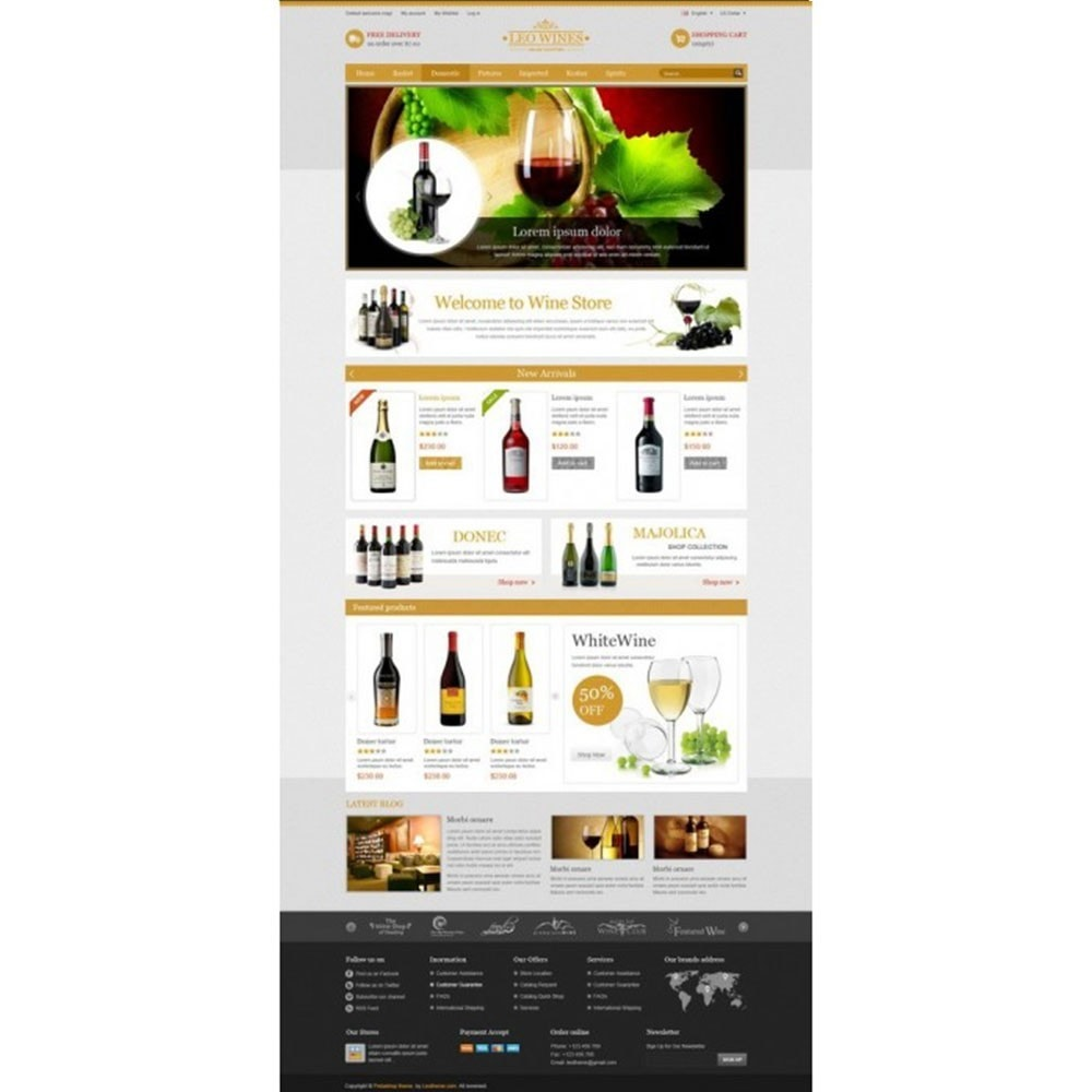 theme - Boissons & Tabac - Leo Wines - Alcool, Restaurant & Magasin d'alcool - 5