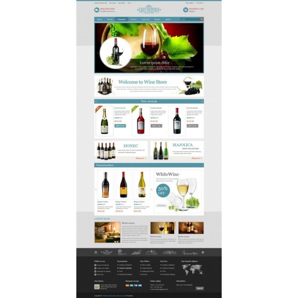theme - Boissons & Tabac - Leo Wines - Alcool, Restaurant & Magasin d'alcool - 9