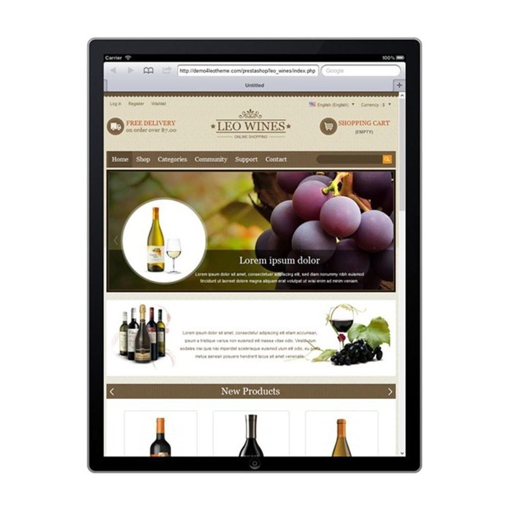 theme - Boissons & Tabac - Leo Wines - Alcohol, Restaurant & Drinks Store - 10