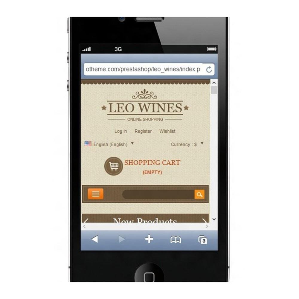 theme - Boissons & Tabac - Leo Wines - Alcohol, Restaurant & Drinks Store - 11