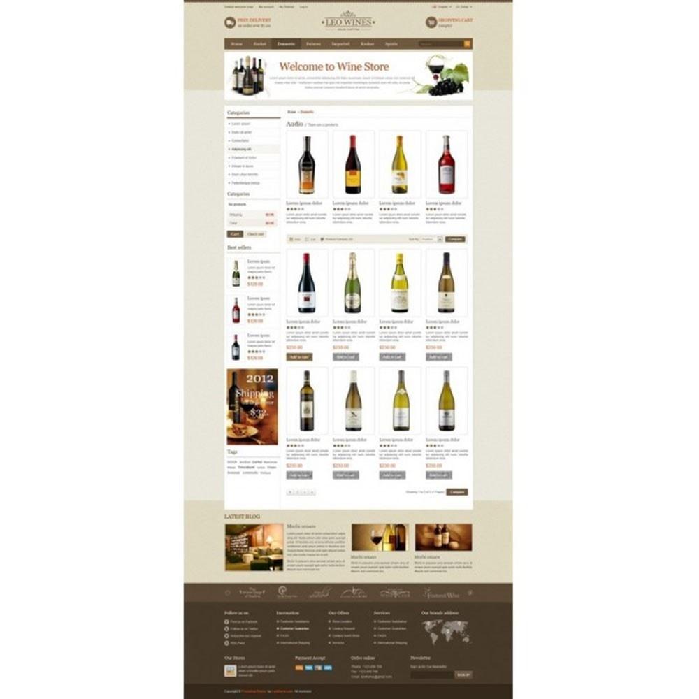 theme - Getränke & Tabak - Leo Wines - Alcohol, Restaurant & Drinks Store - 3