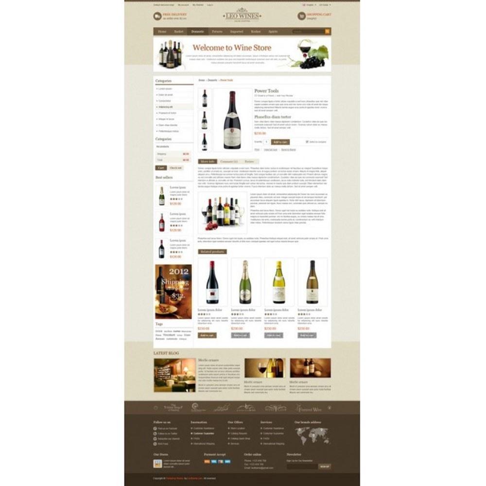 theme - Getränke & Tabak - Leo Wines - Alcohol, Restaurant & Drinks Store - 4