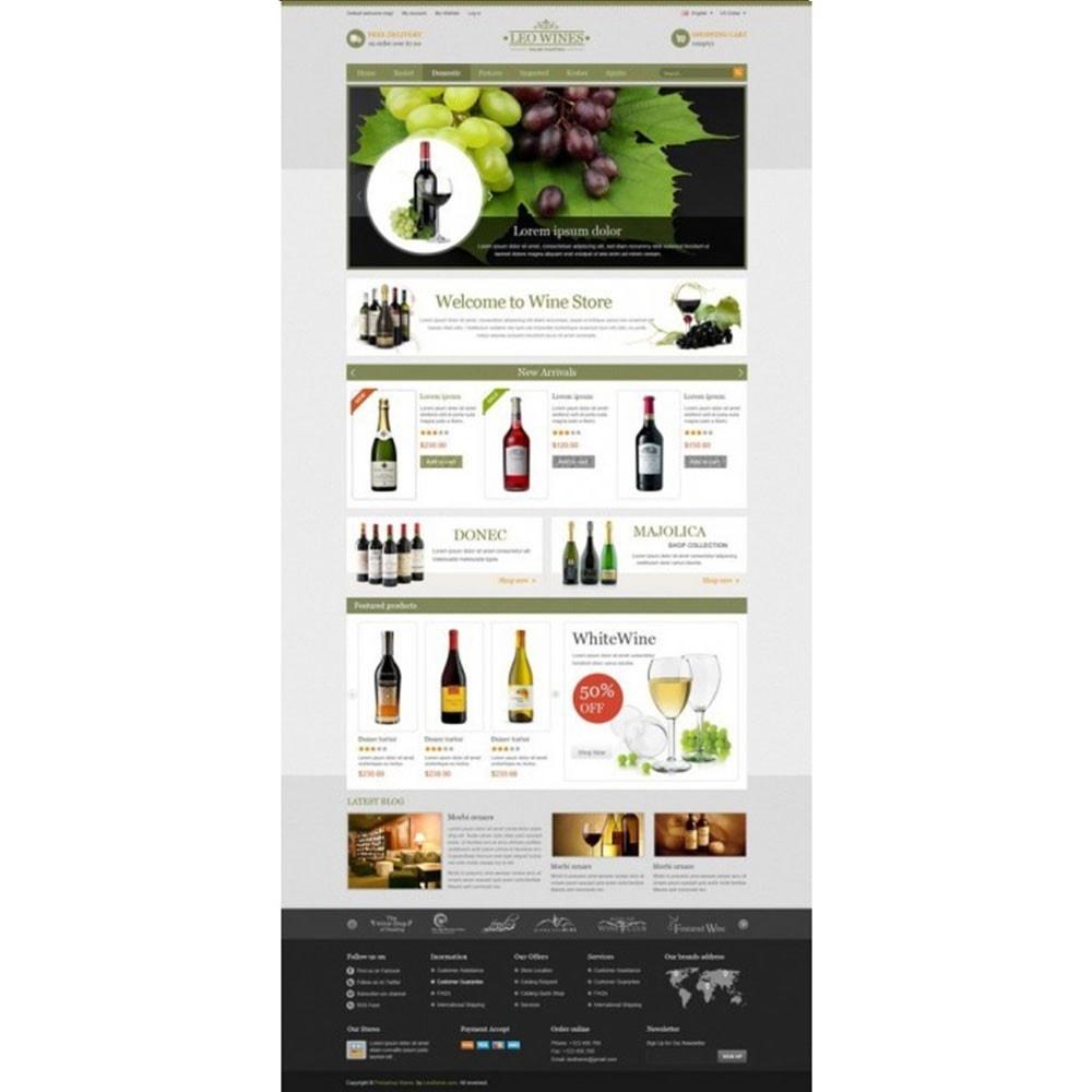 theme - Getränke & Tabak - Leo Wines - Alcohol, Restaurant & Drinks Store - 7