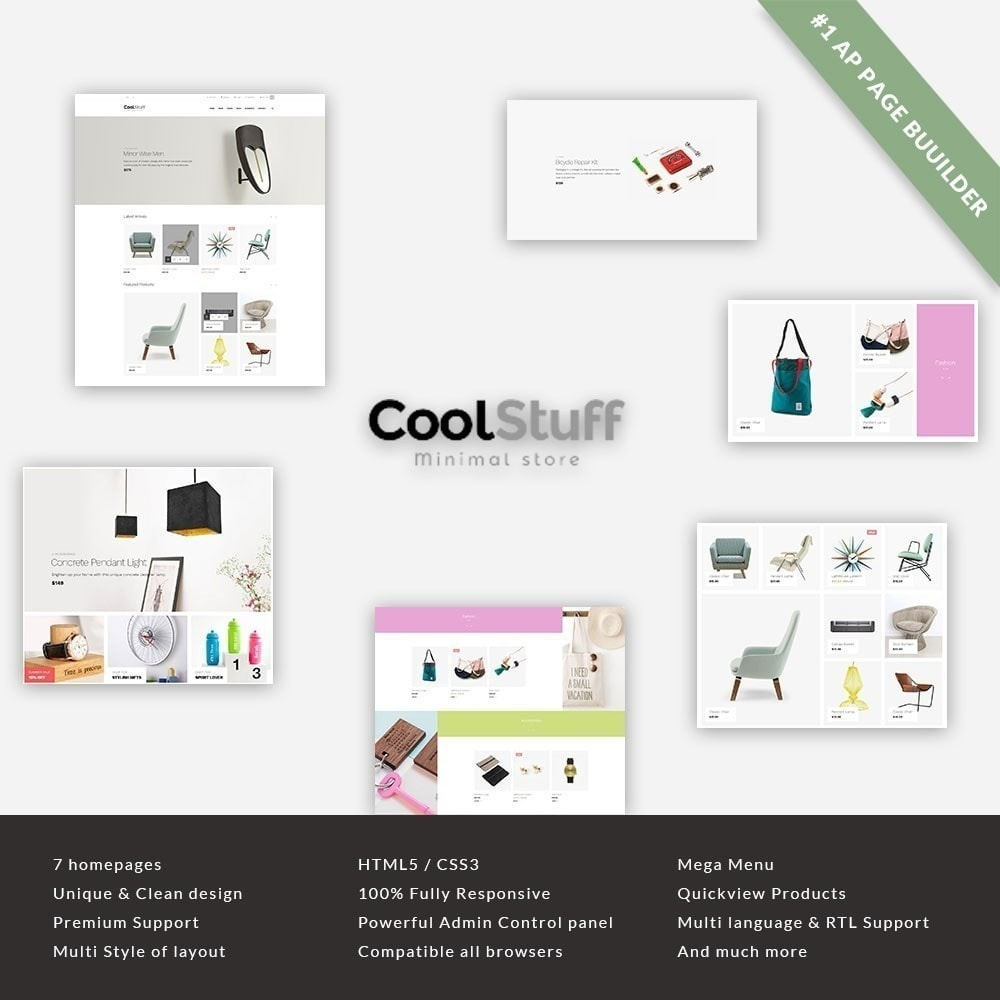 theme - Maison & Jardin - Leo Cool Stuff  - Furniture  Decoration - 2
