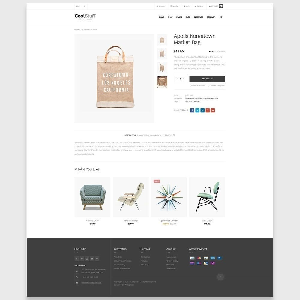 theme - Maison & Jardin - Leo CoolStuff  - Furniture & Decoration - 8