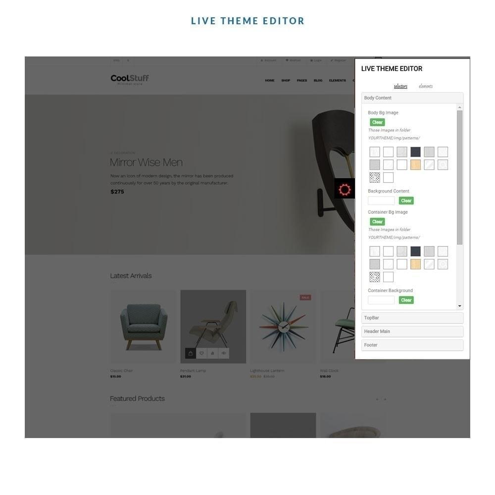 theme - Heim & Garten - Leo CoolStuff  - Furniture & Decoration - 5