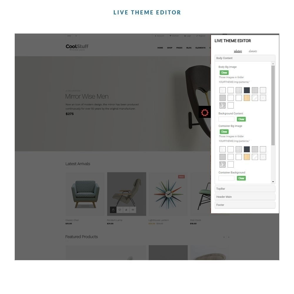 theme - Heim & Garten - Leo CoolStuff  - Furniture & Decoration - 7