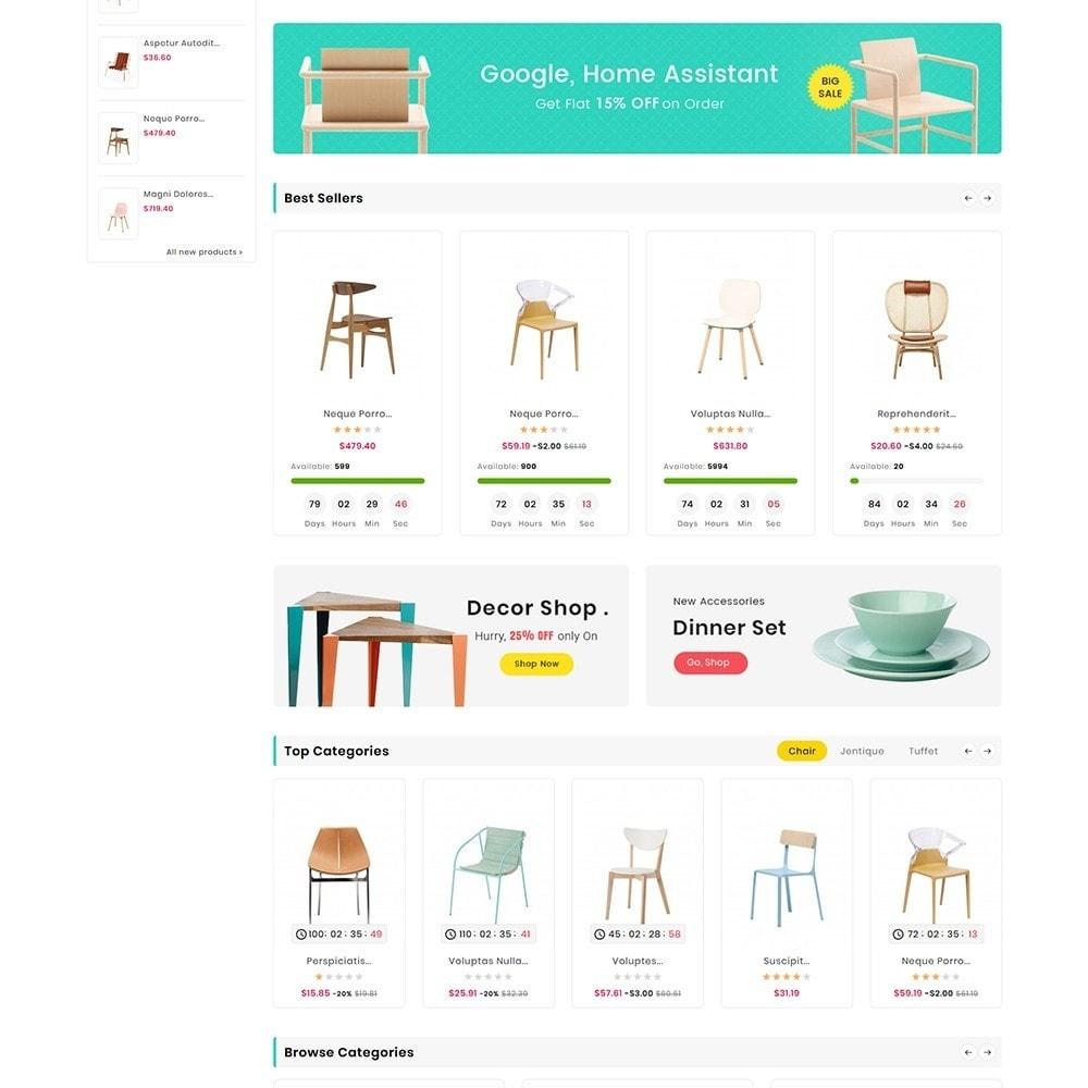 theme - Casa & Jardins - Digital Mart Home Decor Furniture - 3