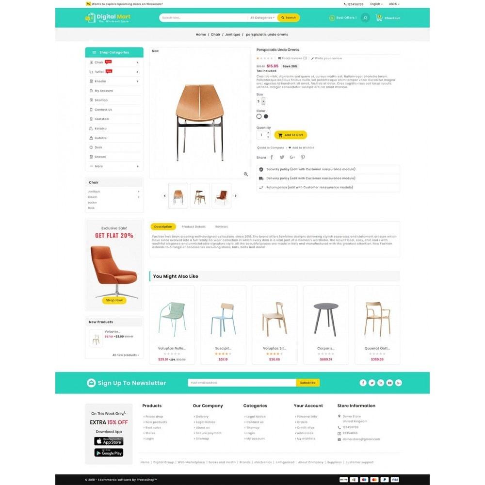 theme - Casa & Jardins - Digital Mart Home Decor Furniture - 6