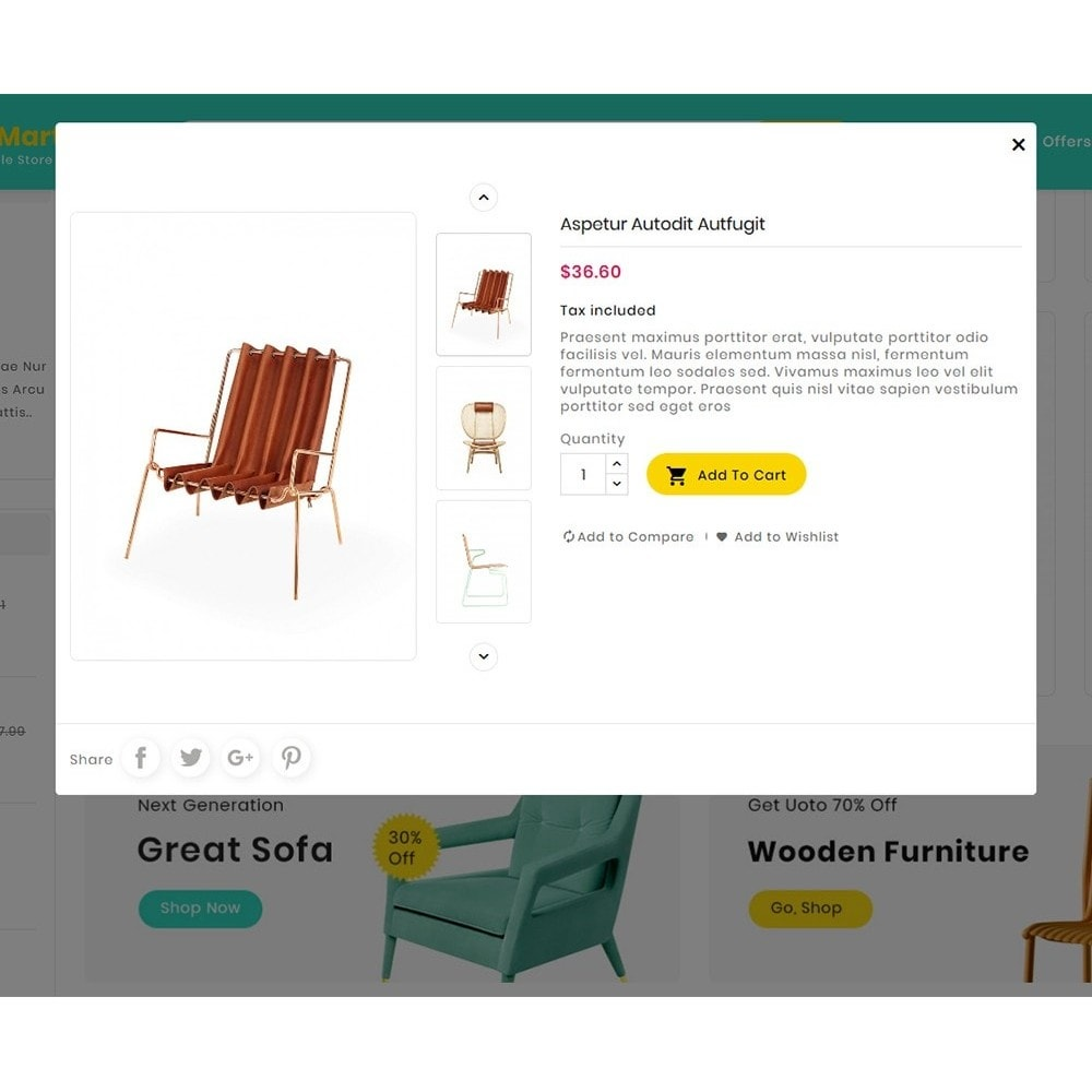 theme - Home & Garden - Digital Mart Home Decor Furniture - 9
