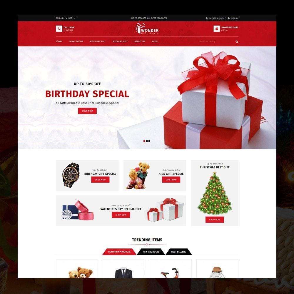 theme - Gifts, Flowers & Celebrations - Wonder - The Gift Shop - 2
