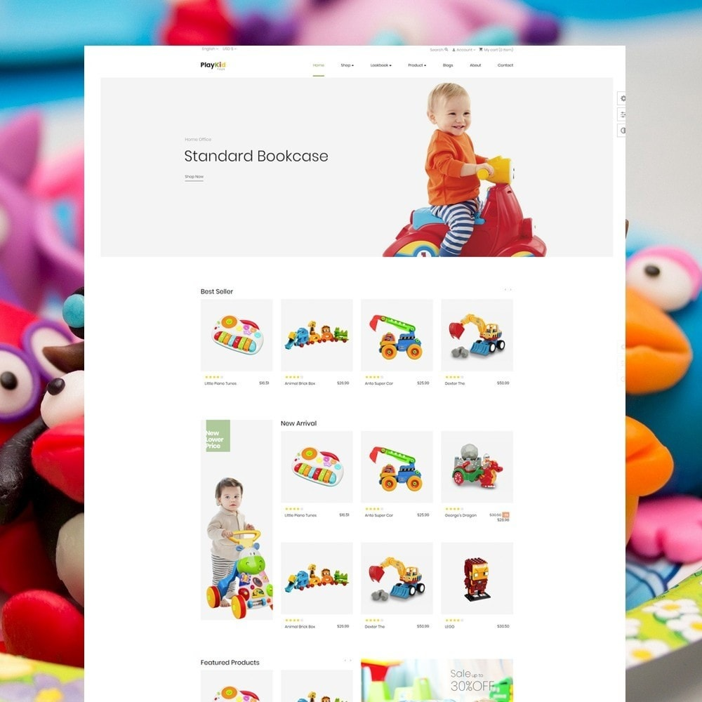 theme - Kids & Toys - Ap Playkid - 2