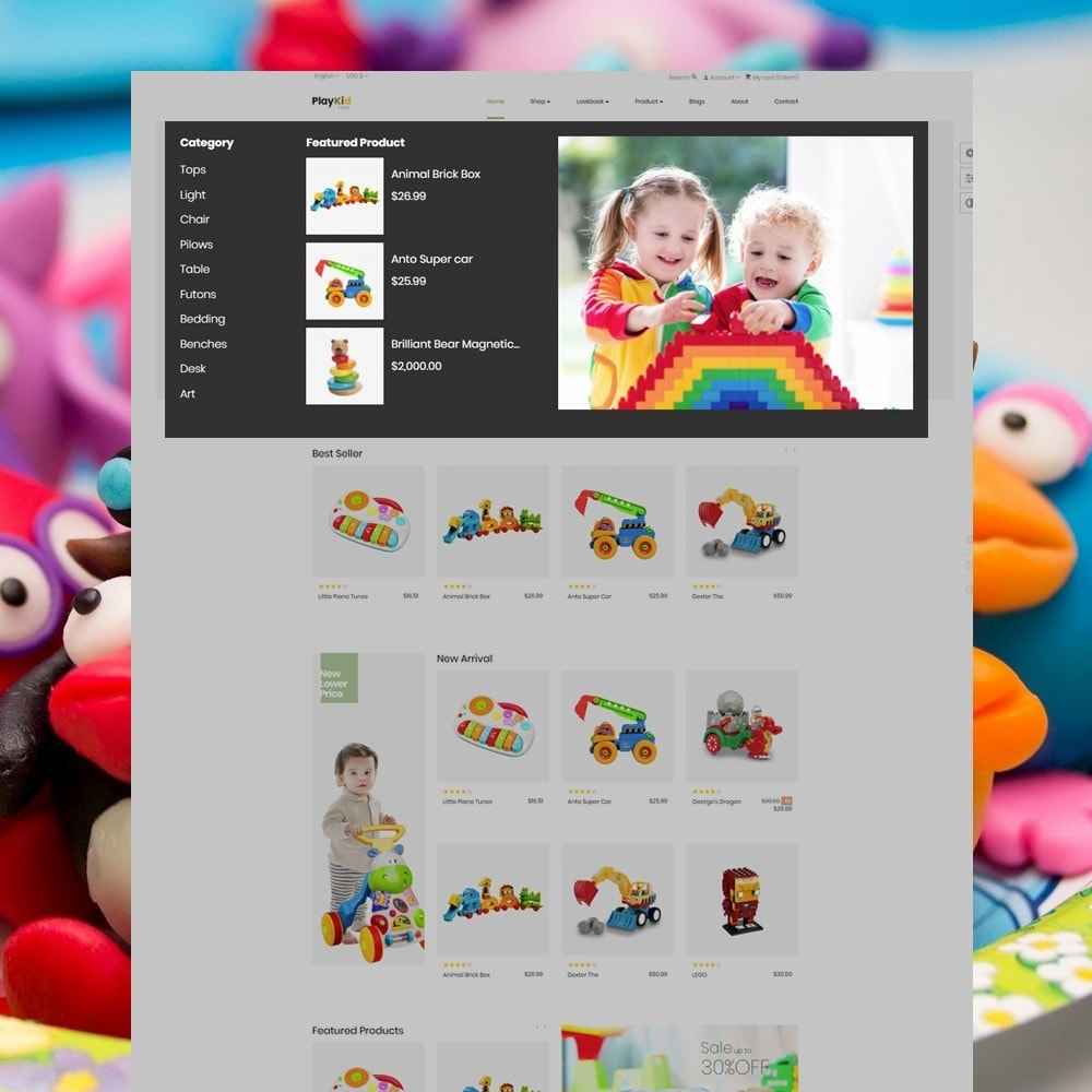 theme - Kids & Toys - Ap Playkid - 3