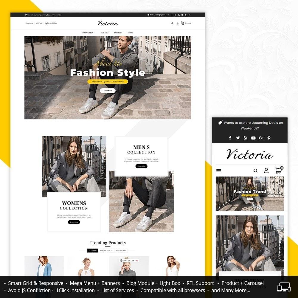 theme - Mode & Chaussures - Victoria Fashion Apparels - 1