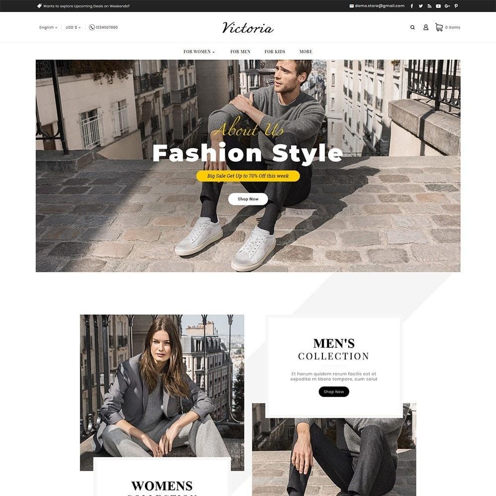 theme - Mode & Chaussures - Victoria Fashion Apparels - 2