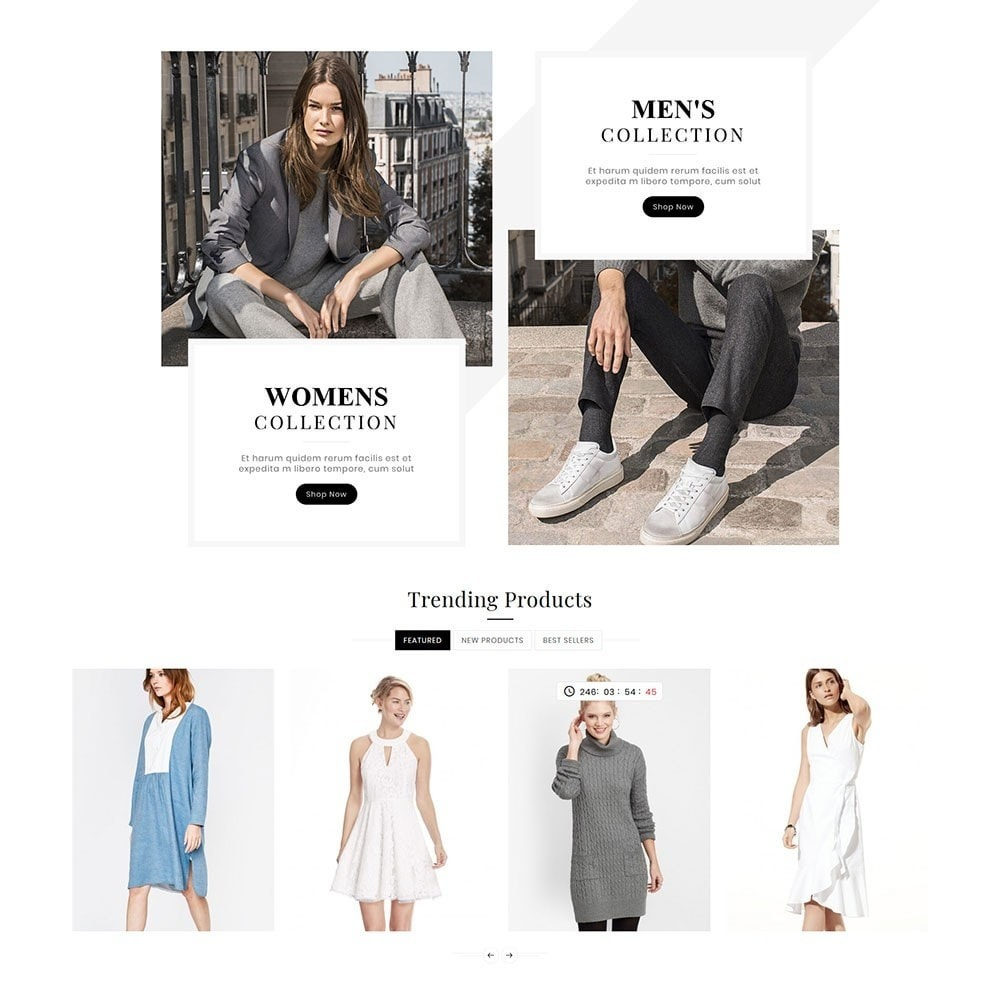 theme - Mode & Chaussures - Victoria Fashion Apparels - 3