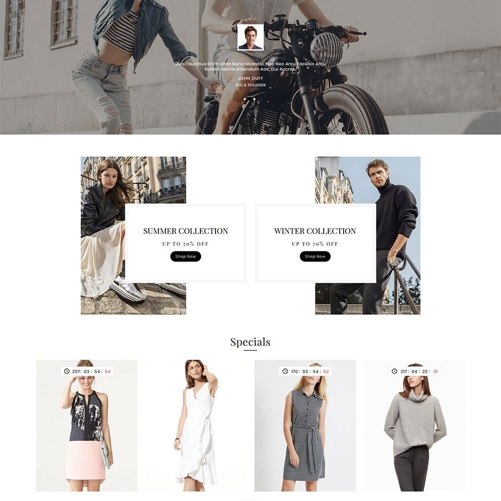 theme - Mode & Chaussures - Victoria Fashion Apparels - 4