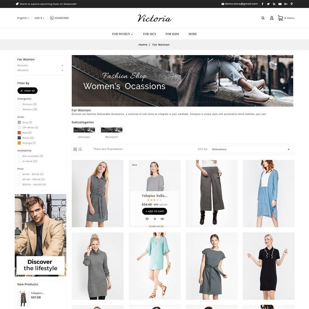 theme - Mode & Chaussures - Victoria Fashion Apparels - 5