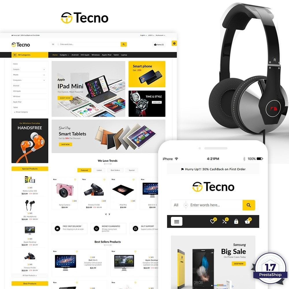 theme - Electronique & High Tech - Tecno – The Electronic Multi Purpose Store - 2
