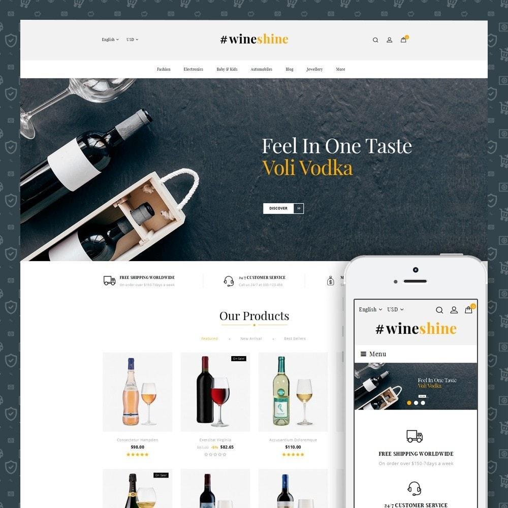 theme - Bebidas & Tabaco - Wine Shine Store - 1