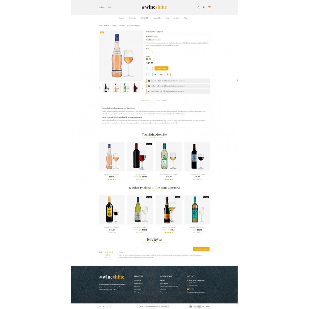 theme - Bebidas & Tabaco - Wine Shine Store - 5
