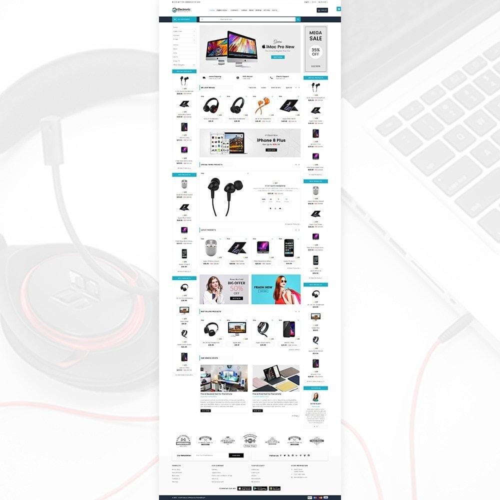theme - Электроника и компьютеры - Electronic – The Electronic Mega Shop - 3